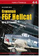 TOP DRAWINGS N. 44 - GRUMMAN F6F HELLCAT F6F-3, F6F-5 MODELS